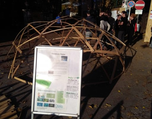 Geodesic Dome auf der Mini Makter Faire Steyr