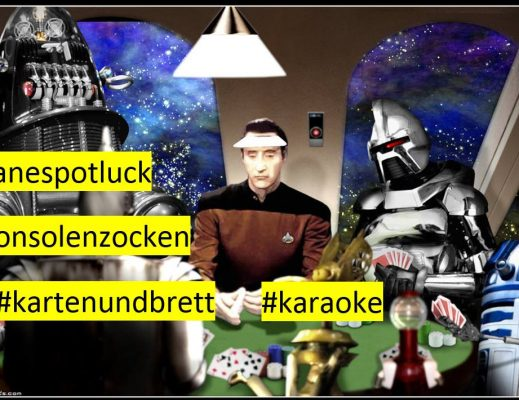 42geeks and nerds welcome – veganespotluck spieleabend karaoke
