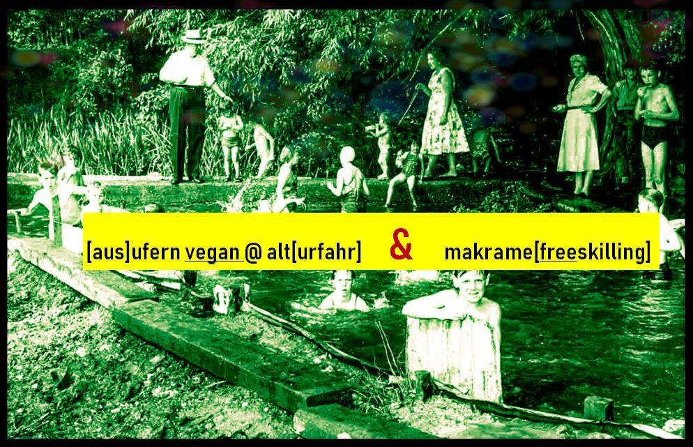 Ausufern vegan AT alturfahr  makrame (freeskilling)