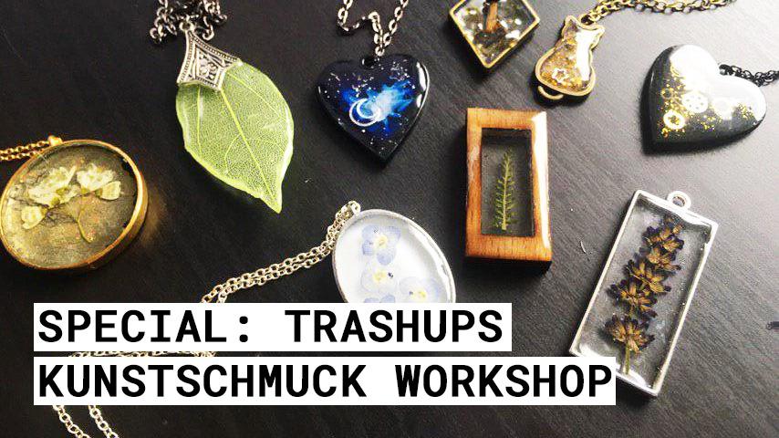 Special: TrashUps Kunstschmuck Workshop