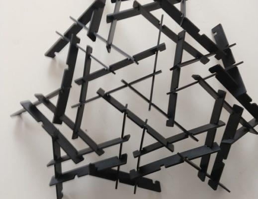 Leonardo Dome aus dem 3D Drucker
